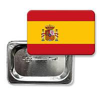 "Закатной значок ""Флаг Испании"""