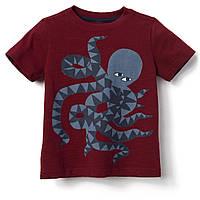 Детская трикотажная летняя футболка Осьминожек Gymboree для мальчика
