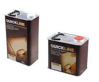 QUICKLINE Лак 2K Прозрачный акрил-уретановый SR (scratch resistant) QC-7600 1л без отвердителя