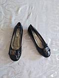 Туфли на небольшом каблуке, балетки 39-40 р, фото 7