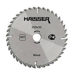 Диск пильный Haisser 250х32 40 зуб по дереву