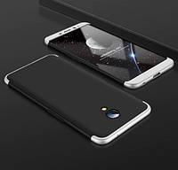 Пластиковая накладка GKK LikGus 360 градусов для Meizu M5 Note