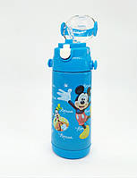 Детский термос с трубочкой 350 мл для мальчика микки маус