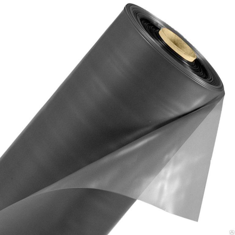 Пленка полиэтиленовая вторичная  80 мкм (6м* 50м)