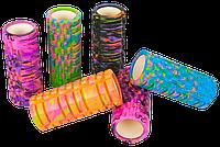 Массажный валик Grid Combi Roller 33*14,5 см рельефный мультиколор (FI-4940)