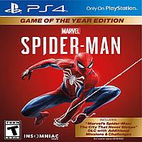 Marvel's Spider Man GOTY RUS PS4 (NEW)