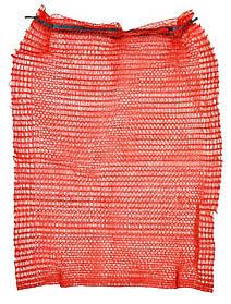 Сетка с завязкой Technics красная до 30 кг 45 х 75 см (69-226)