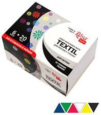 Набор акриловых красок для росписи тканей 6 цветов по 20 мл Rosa Talent, 134620