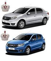 Автостекло, лобовое стекло на Dacia Logan, Renault Symbol, Dacia Sandero 2012-