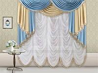 У стилі французьких аристократів. Французькі штори.