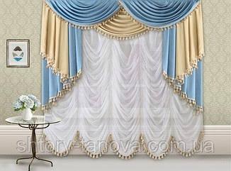 В стиле французских аристократов. Французские шторы.