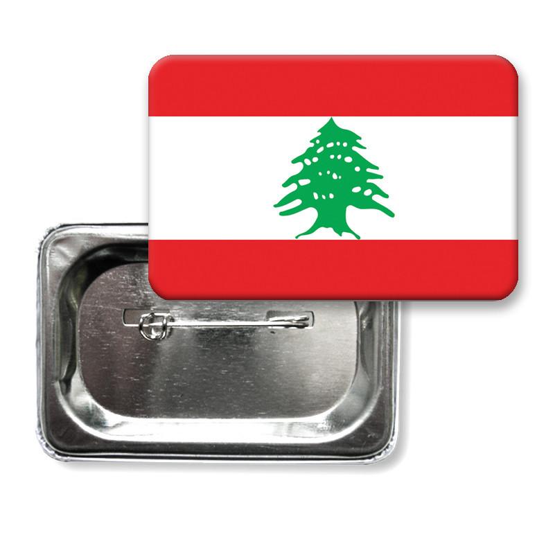 "Закатной значок ""Флаг Ливана"""