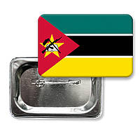Значок флаг Мозамбик