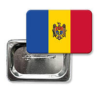 Значок флаг Молдова