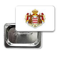 Значок флаг Монако