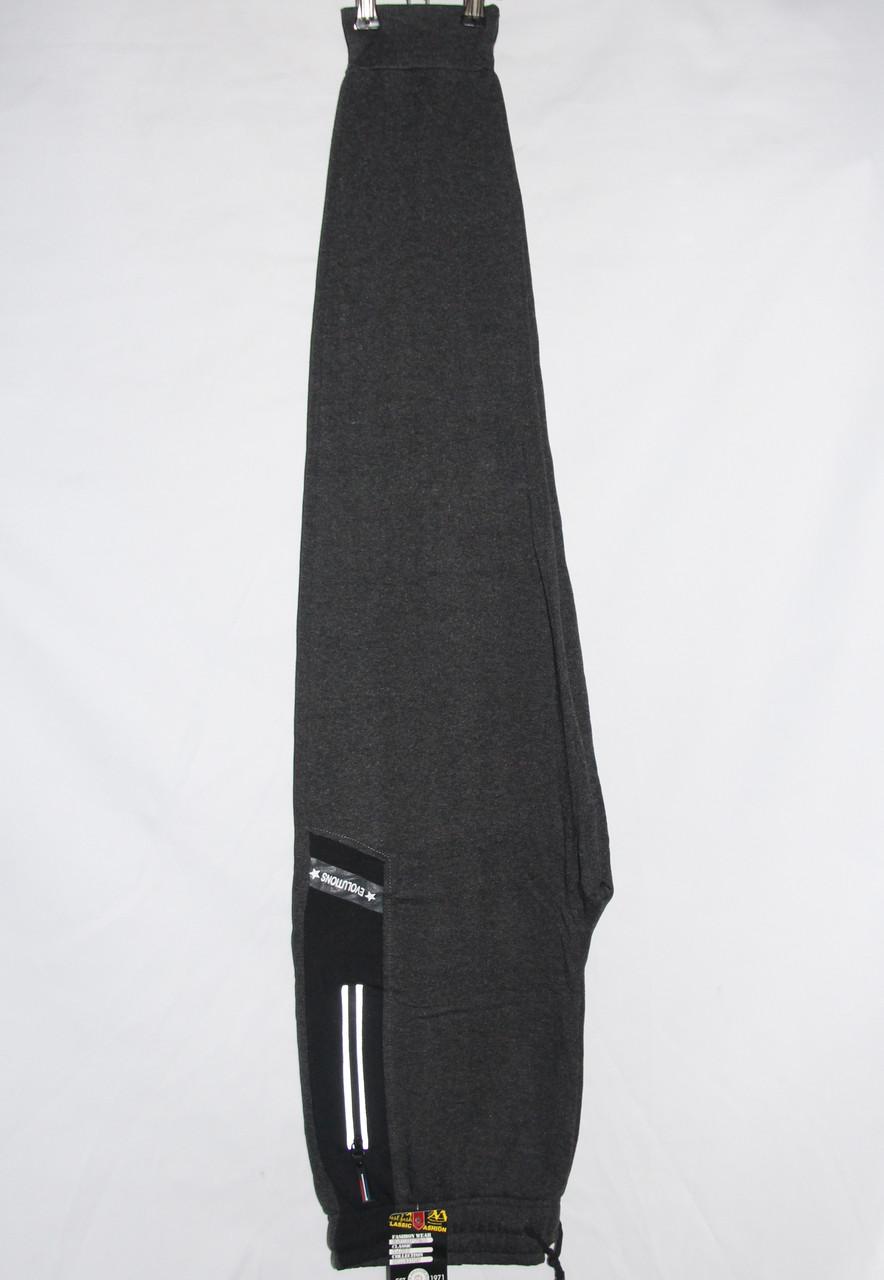 Мужские трикотажные брюки с начесом (48-56 р-ры) оптом со склада в Одессе(7км.)