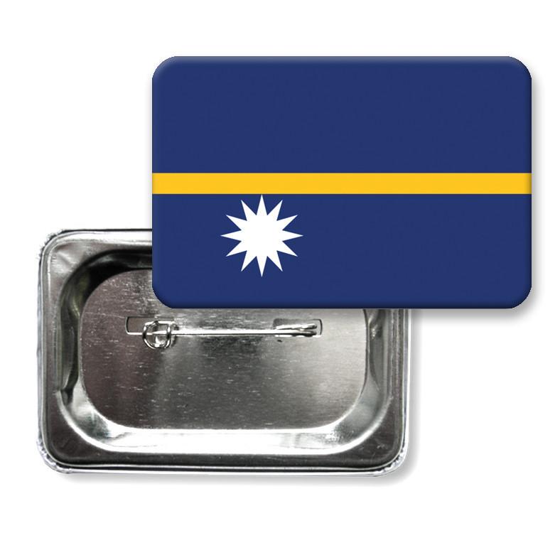 "Значок ""Флаг Науру"""