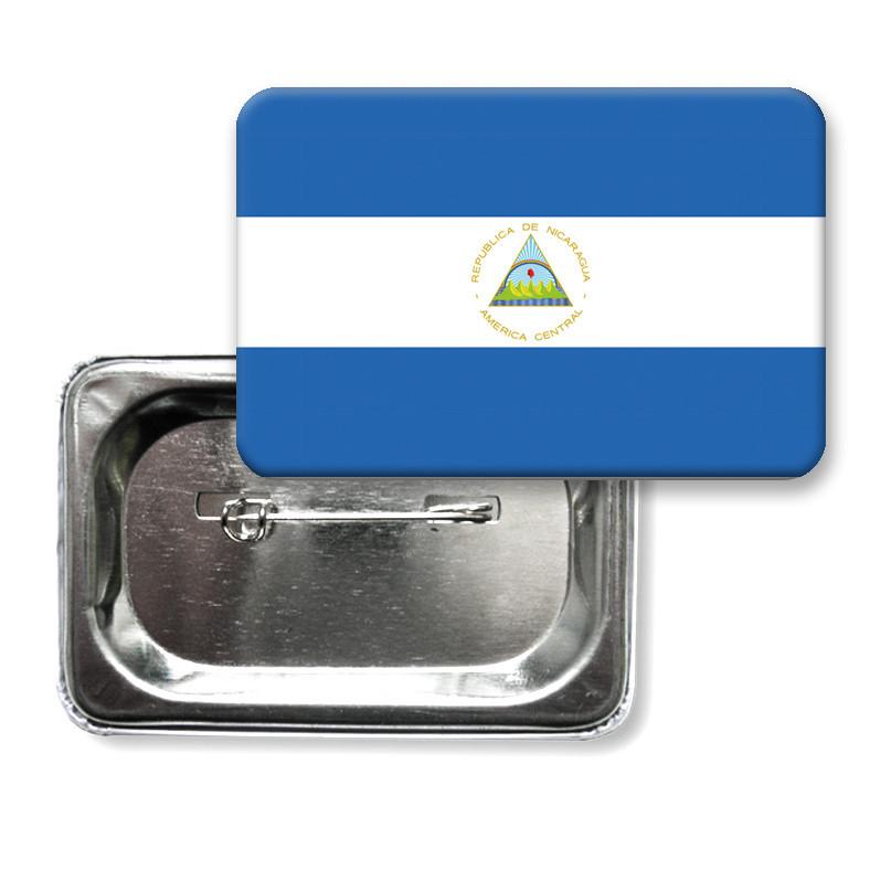 """Значок """"Флаг Никарагуа"""""""
