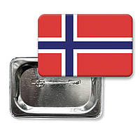 """Значок """"Прапор Норвегії"""""""