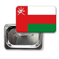 """Значок """"Флаг Омана"""""""