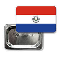 "Значок ""Флаг Парагвай"""