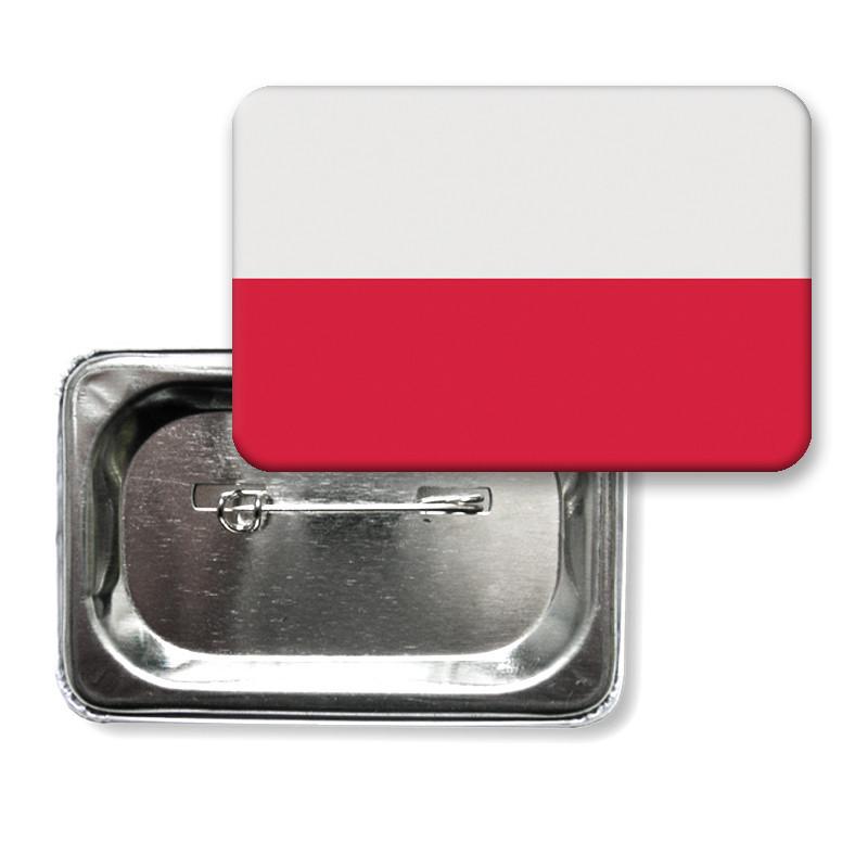 """Значок """"Флаг Польши"""""""