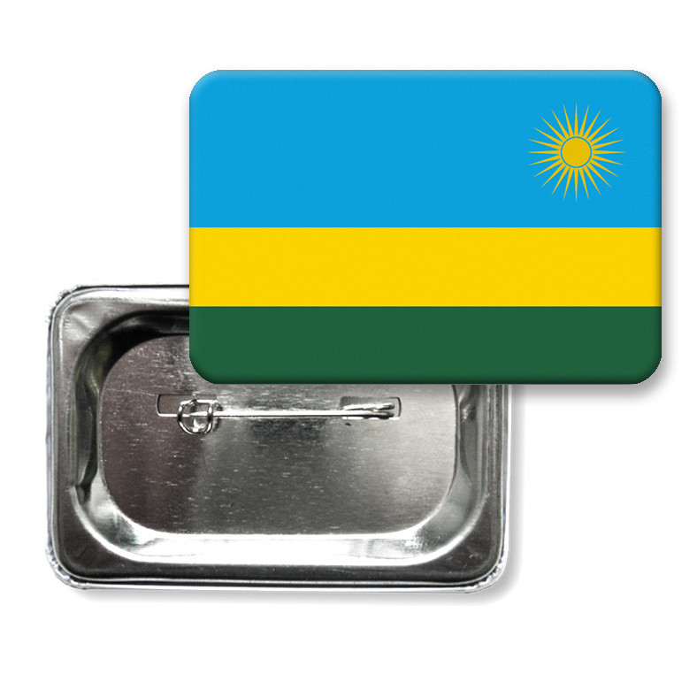 """Значок """"Флаг Руанды"""""""