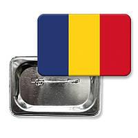 """Значок """"Флаг Румынии"""""""