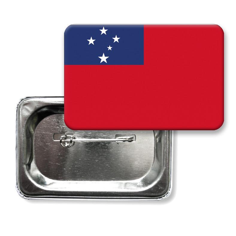 "Значок ""Флаг Самоа"""