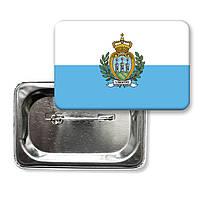 "Значок ""Флаг Сан Марино"""