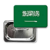 """Значок """"Прапор Саудівської Аравії"""""""