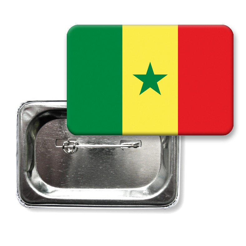 "Значок ""Прапор Сенегалу"""
