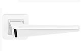 Дверні ручки Metal-Bud DUO срібло сатинове, фото 2