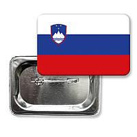 "Значок ""Прапор Словенії"""