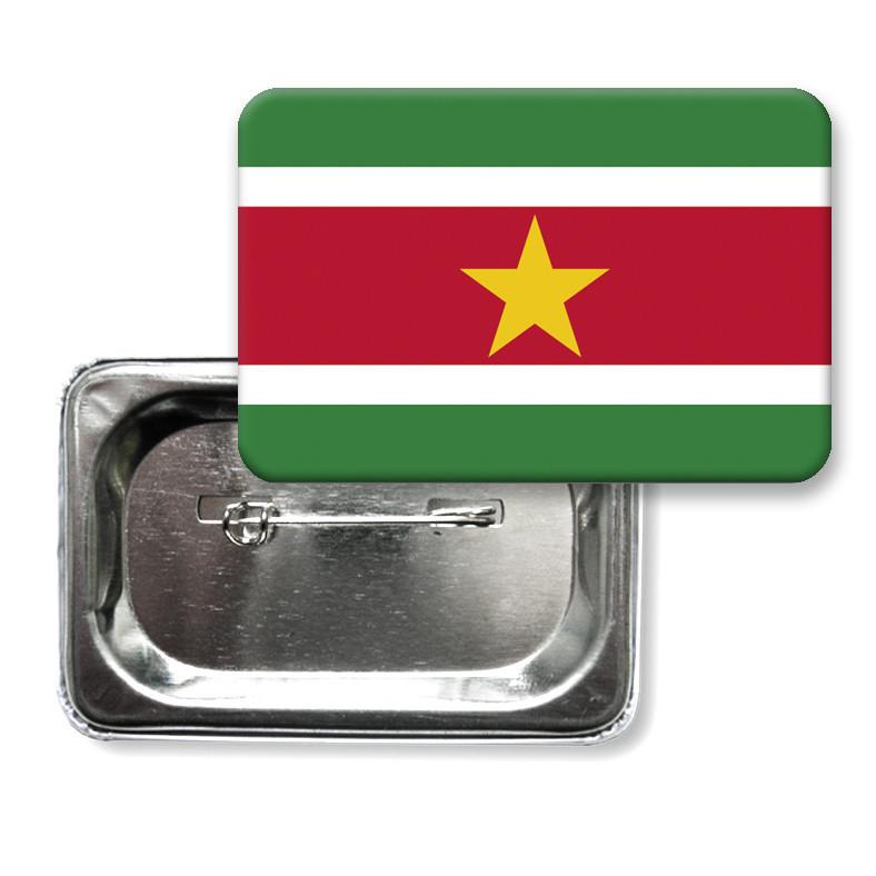 """Значок """"Флаг Суринама"""""""
