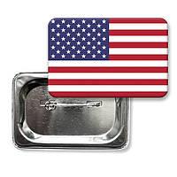 """Значок """"Флаг США"""""""