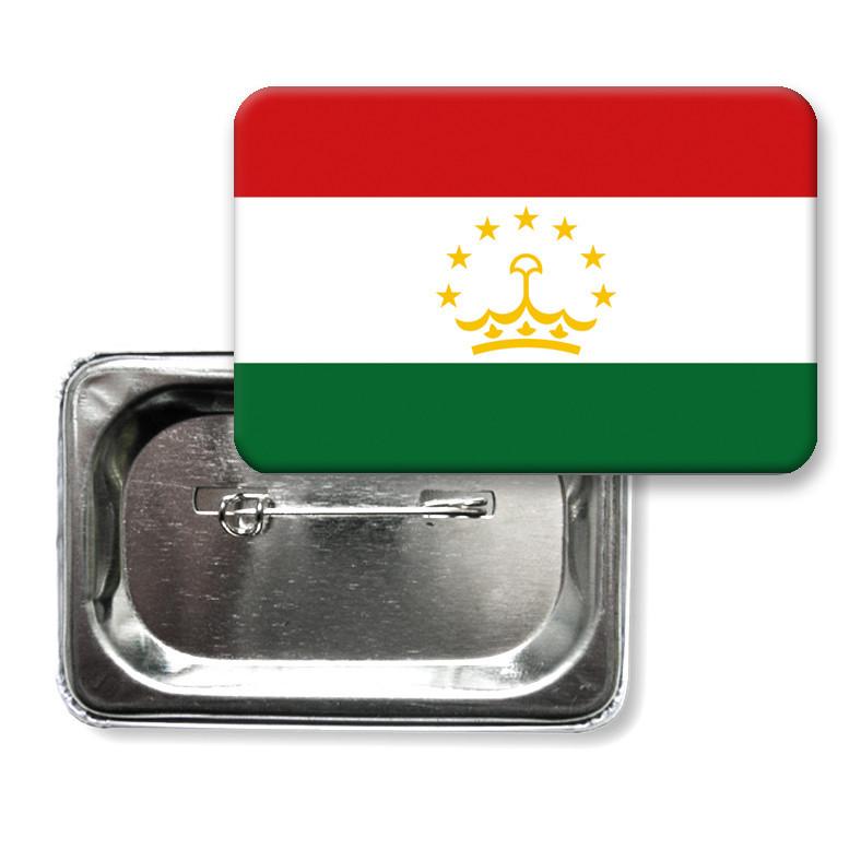 "Значок ""Флаг Таджикистана"""