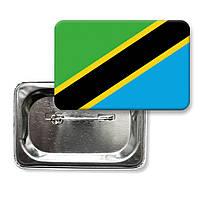 "Значок ""Флаг Танзании"""