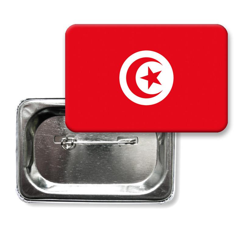 "Значок ""Флаг Тунис"""