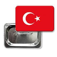 "Значок ""Прапор Туреччина"""