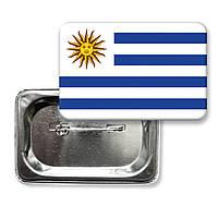 """Значок """"Флаг Уругвая"""""""