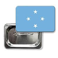 "Значок ""Флаг Микронезии"""