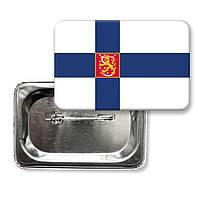 """Значок """"Прапор Фінляндії"""""""