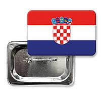 "Значок ""Флаг Хорватии"""