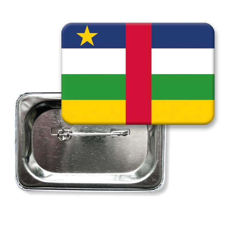 "Значок ""Прапор Центральноафриканської Республіки"""