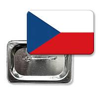 "Значок ""Флаг Чехии"""