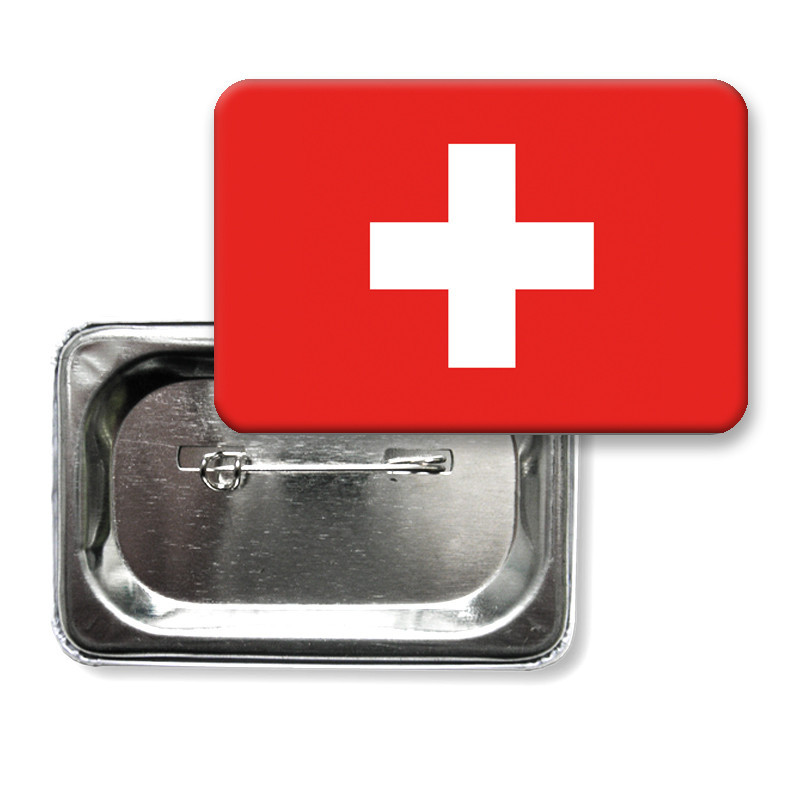 """Значок """"Прапор Швейцарії"""""""