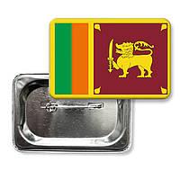"""Значок """"Прапор Шрі-Ланки"""""""