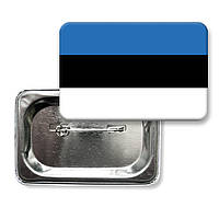 "Значок ""Флаг Эстония"""