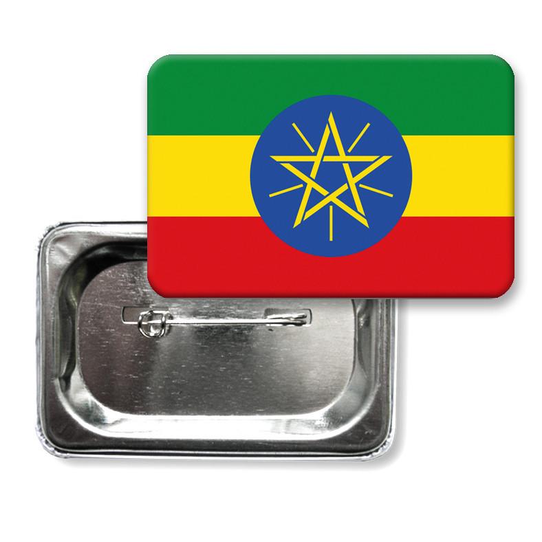 """Значок """"Прапор Ефіопії"""""""